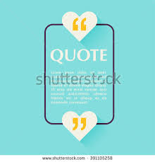 quote blank template design elements circle stock vector 391105270