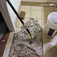 bathroom how to replace bathroom tile floor how to change