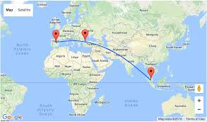 Madrid Spain Map Open Jaw Flights From Spain To Kuala Lumpur From Only U20ac276