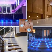 set of 10 x30mm led low voltage indoor outdoor led lighting kit