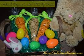 healthy easter baskets and organic alternatives for easter basket treats on