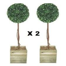 artificial trees 2 x artificial trees 3ft topiary trees topiary trees
