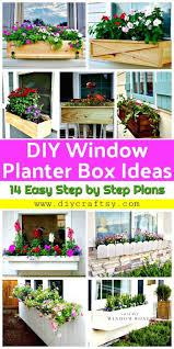 diy window planter box ideas 14 easy step by step plans diy