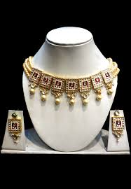 choker necklace pearl images Pearl choker necklace set jjr15711 jpg