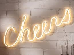 stylish neon signs to hang on your walls hgtv u0027s decorating
