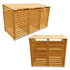 wheelie bin store garden structures u0026 shade ebay