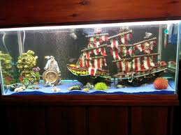 pirate aquarium decors awesome aquarium decorations