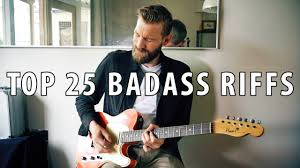 top 25 badass guitar riffs through the years with loop control