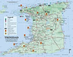 Map Of South America And North America by Beaches Trinidad Wi Location Of The Islands In The World Map