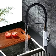 mischbatterie k che schwarz homelody 360 drebar hoher auslauf küchenarmatur schwarz armatur