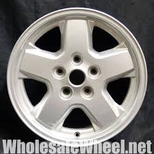 used jeep liberty rims jeep factory oem wheels 9038 jeep liberty 16 silver factory