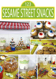 entertaining with style a sesame street second birthday party