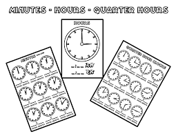 file tell time clock cover at coloring pages for kids boys dotcom