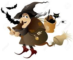 halloween flying witch royalty free cliparts vectors and stock
