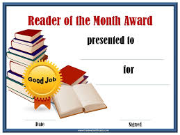 reading awards and certificate templates free u0026 customizable