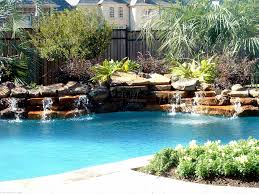 Small Pools For Small Backyards by Pool Tropical Landscaping Ideas Fleagorcom