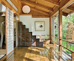 Traditional Japanese House Design With Stunning Forest Home - Traditional home design