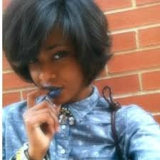 relaxed short bob hairstyle the 503 best images about hair on pinterest protective styles