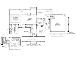 Simple Two Storey House Design by 100 2 Floor House Plans 54 Simple One Floor House Plans