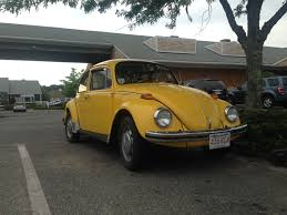 file 1972 yellow vw beetle punch your neighbor forgotten metal