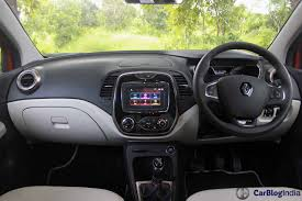 renault interior renault captur suv launched prices 9 99 lakh to 13 38 lakh
