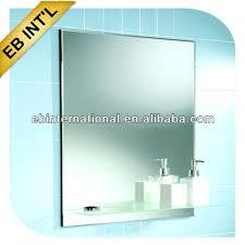 mirror with shelf bathroombathroom mirror with glass shelf