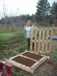 Raised Garden Beds From Pallets - raised garden bed from crates i think i have a crate obsession