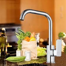 Kitchen Faucets Wholesale Wholesale Brass Seven Shaped Single Kitchen Faucets