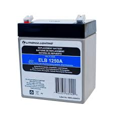 light and battery store lithonia lighting elb 1250a r6 12 volt 5 amp replacement battery elb