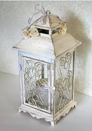white lantern centerpieces wedding lantern centerpiece 10in vintage antique ivory