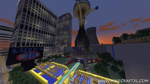 Fallout New Vegas World Map by Best World Ever Creative Survival Map Download For Minecraft 1 7 2 1 6