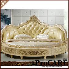 elegant bed modern european elegant noble style king size round bed price in
