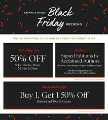 barnes noble black friday 2017 ad best barnes noble black