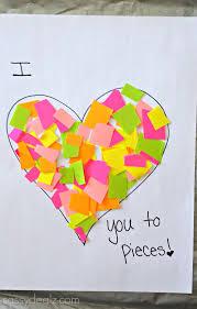 list of easy valentine u0027s day crafts for kids heart crafts kids