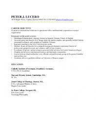 Good Resume Objective Samples Cover Letter Resume Objective Career Change Best Resume Objective