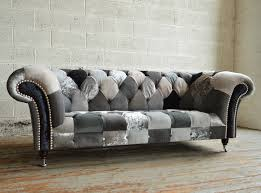 Chesterfields Sofa by Chesterfield Sofa Im Patchwork Stil Www Kippax Sofas De