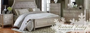 featured furniture windsor silver bedroom set