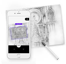 grid drawing u0026 tracing paper app for artists u0026 illustrators myvinchy