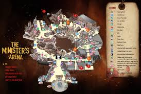 2014 halloween horror nights hhn map