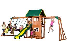 Best Backyard Play Structures Pinterest