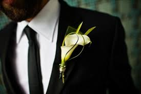 calla boutonniere vancity vendor faves classic boutonnieres vancouver wedding