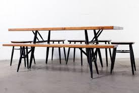 Indoor Picnic Table Mid Century Teak Picnic Bench Table U0026 Stools