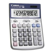amazon com canon office products hs 1200ts business calculator