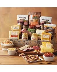 david harry s gift baskets spooktacular savings on ultimate meat and cheese gift box gift