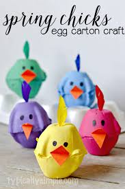 Spring Egg Carton Craft Typically Simple