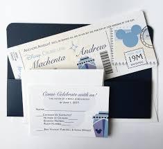 nautical wedding invitations disney wedding invitation set boarding pass wedding