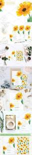 die besten 25 sonnenblumen hochzeitseinladungen ideen auf