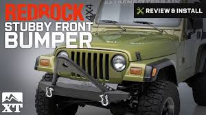 jeep stinger bumper jeep wrangler redrock 4x4 stubby front bumper w stinger bar 1987