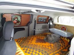 fold out bed inside our vintage camper van van u0027s pinterest