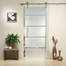 interior glass barn doors picture on creative home interior